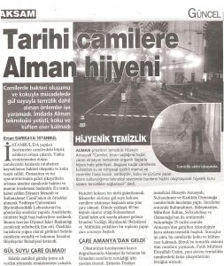 potema basin haberleri turkiye hotel service dergisi otel yatak hali koltuk temizleme