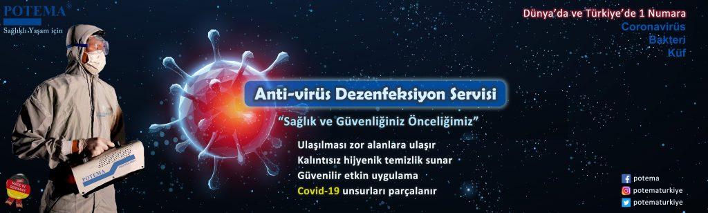 potema dezenfeksiyon dezenfektan temizlik hizmeti korona covid-19
